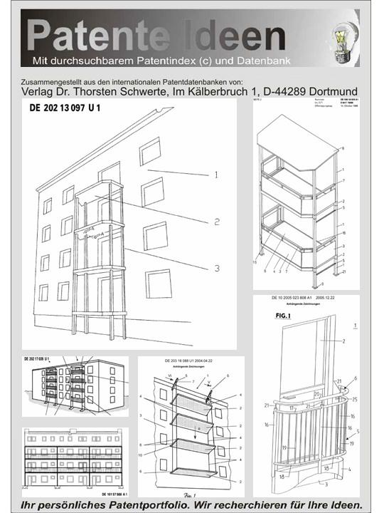 balkon f r altbau und neubau konzepte auf 1400 seiten. Black Bedroom Furniture Sets. Home Design Ideas