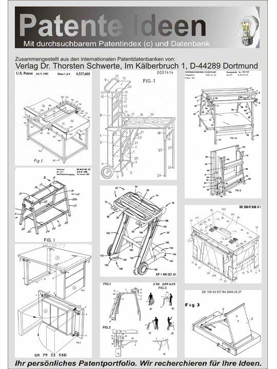 Werkbank selber bauen pdf  Tragbare Werkbank selbst bauen auf 300 Seiten! - Dr. Thorsten ...
