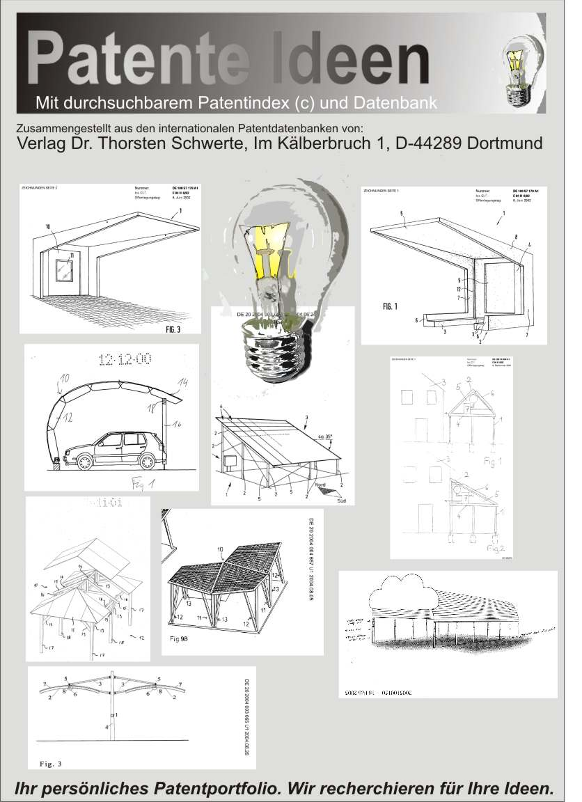 Carport selbst bauen Patente Baupläne Ideen 1850 Seiten Dr