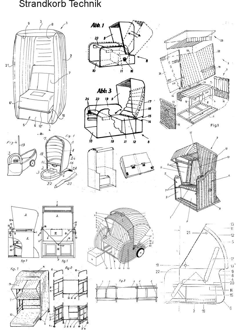 strandkorb selbstbauen, die technik auf 2246 seiten | ebay
